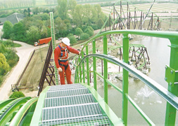 Permanent fall protection