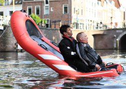 Redding en evacutatie Rescue Tipboard opblaasbaar reddingsplatform