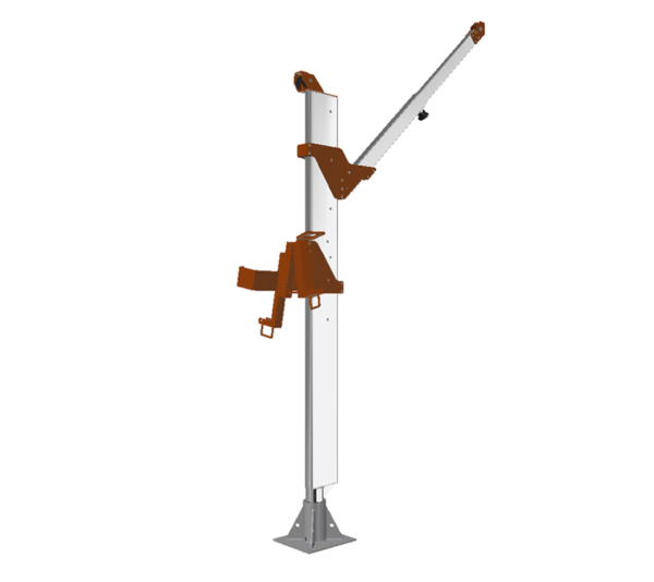 TwinSleeve® Davit mobile-and-fixed anchor point