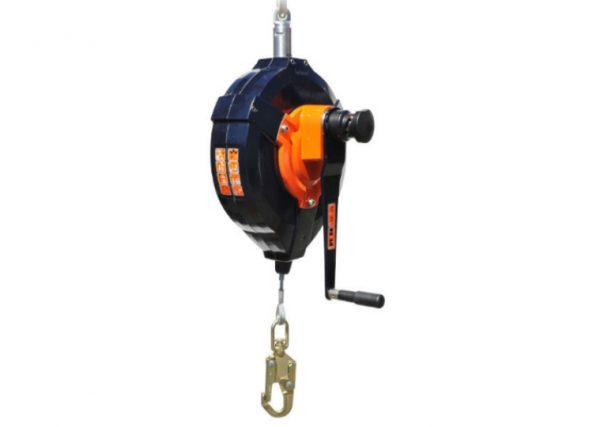 Fall arrest block with rescue function max 33 m FAB33R
