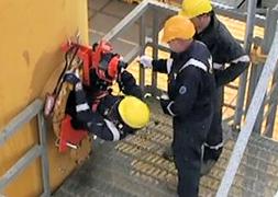 RescueSlide and hanging ladder