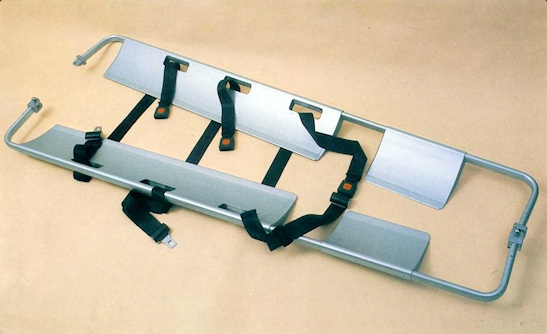 Shovel stretcher Suitable for moving victims easily and quickly