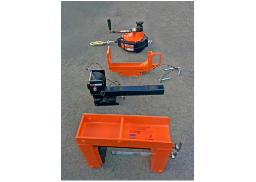 TankClamp mobile anchor point components