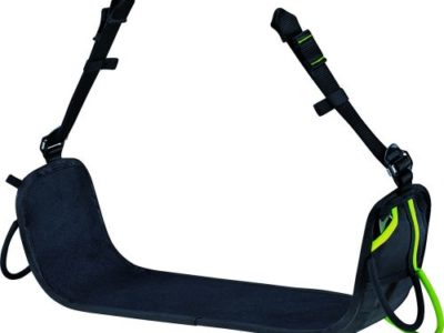 Air Lounge. Work positioning seat with edge protection working at height