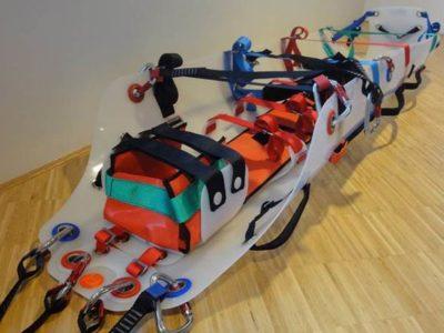 Rescue stretcher SLIX SLIX spinal splint